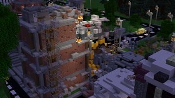 [Quarantine's Fate] Official (1.16.4+) Minecraft Survival Games Map 100% Minecraft Map & Project