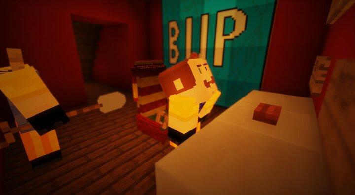 Secret Neighbor: Cat's Edition Minecraft Map
