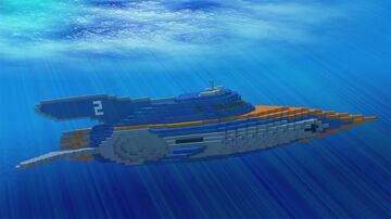 "DSRC-SN02 ""Swordfish"" Minecraft Map & Project"