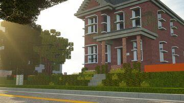 A Rundown Brick Victorian Minecraft Map & Project