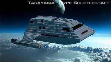 Star Trek: Takayama-Type Shuttlecraft Minecraft Map & Project