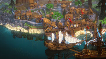 Kald Bay - First Dawn Project Minecraft Map & Project