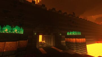 Nether Lord's Fortress Minecraft Map & Project