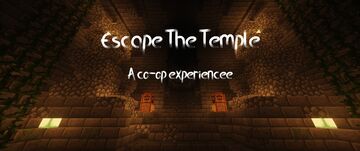 Escape The Temple (co-op map 1.16) Minecraft Map & Project