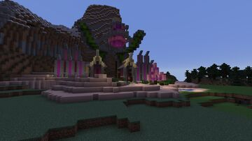 No_OLife Gaming World Build with Family Minecraft Map & Project