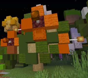 Hibiscus Bush Minecraft Map & Project