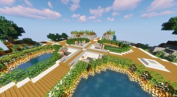 Faction Server Spawn Minecraft Map & Project