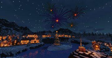 Dymshire - Cozy Winter Village (FBC) Minecraft Map & Project