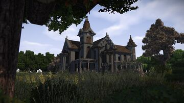 Abandoned Victorian Mansion at the End of the Street Minecraft Map & Project