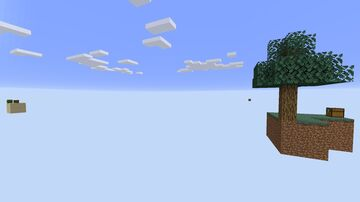 Skyblock little changed for 1.16 and future version Minecraft Map & Project