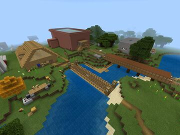 Oakfield Village [BETA] Minecraft Map & Project