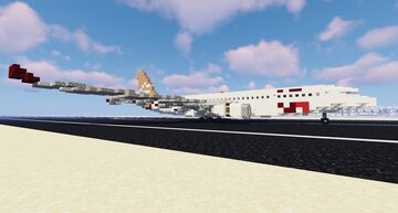 Libyan Airlines A330-200 (1:1) Minecraft Map & Project