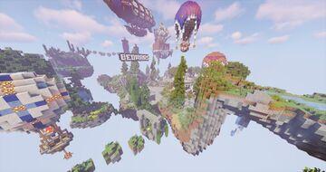 Map Minecraft : Lobby Server Bed Wars, SkyWars MiniGame Spawn | StarDix Minecraft Map & Project