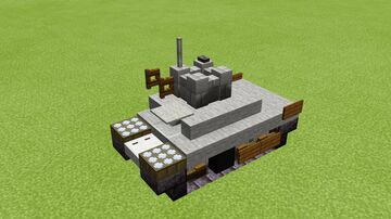Panzer 1 1.5-1 scale Minecraft Map & Project