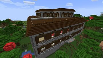 Best Woodland Mansion (perfect for survival) Minecraft Map & Project