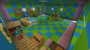 Most secret safe Redstone bunker Minecraft Map & Project