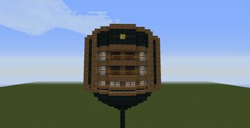 H.M.S. Endeavour from POTC (incompleted) Minecraft Map & Project