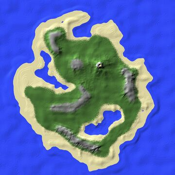 Overgrowth Island-The Coastal Update Minecraft Map & Project