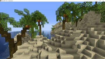 """""""The Island"""" A 3k x 3k Adventure/Survival Map. Survival Friendly! Minecraft Map & Project"""