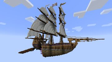 RLS Legacy - Treasure Planet Minecraft Map & Project