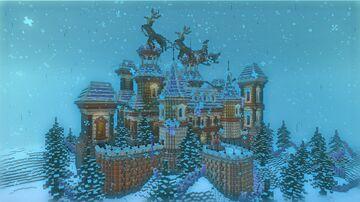 "MinecraftPe Build ""WinterPalace"" Minecraft Map & Project"