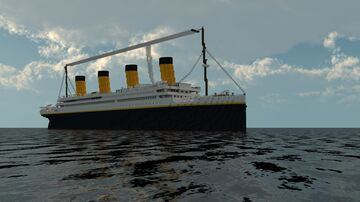 R.M.S. Titanic 1:1 Scale (Exterior Only) 1.12.2 Minecraft Map & Project