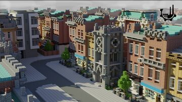 Procedural Metropolis | Realistic Minecraft Houses Minecraft Map & Project