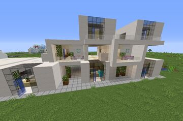 Module House part 1 and 2 Minecraft Map & Project