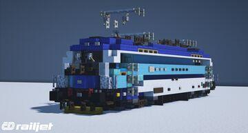 "ES64U4 ČD Railjet ""Spirt of Brno"" Minecraft Map & Project"
