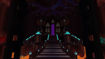 Underground Nether Portal Room (Survival) Minecraft Map & Project