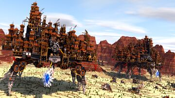 Marauder Cities Minecraft Map & Project