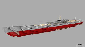 Japanese Submarine I-26 1:1 Scale Minecraft Map & Project