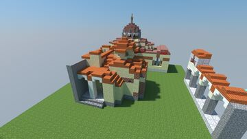 Church of the Evangelistria Mystras Minecraft Map & Project