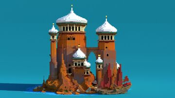 Arabian style temple Minecraft Map & Project
