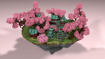 🎌 SkyBlock Japan - AliensBuilds 🎌 Minecraft Map & Project