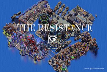 The Resistance - Map 2000 x 2000 : Falcon Infinity Studios Minecraft Map & Project