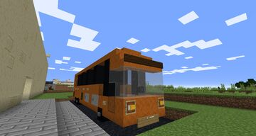 Coach Bus Minecraft Map & Project