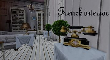 French interior Minecraft Map & Project
