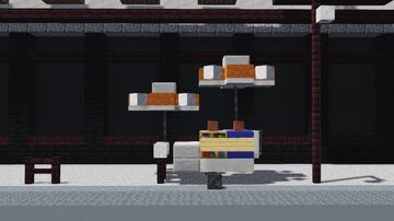 New York Hot Dog Stand Minecraft Map & Project