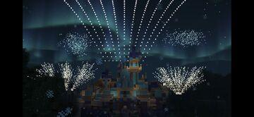 Disneyland Forever Firework show in Minecraft Minecraft Map & Project