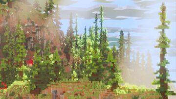 Arches. Showcase terrain. Smol Minecraft Map & Project