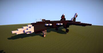 2:1 Sukhoi Su-47 Berkut Minecraft Map & Project