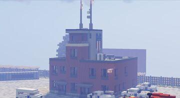 Union Pacific Railyard Minecraft Map & Project
