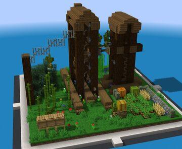 SchematiCraft - Garden Keepers Minecraft Map & Project