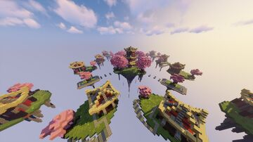 Cherry Blossom SKYWARS MAP (MCC) Minecraft Map & Project