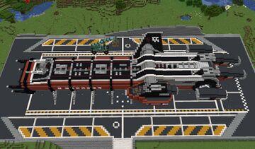 Minecraft Drake Caterpillar from Star citizen - Full Interior Minecraft Map & Project
