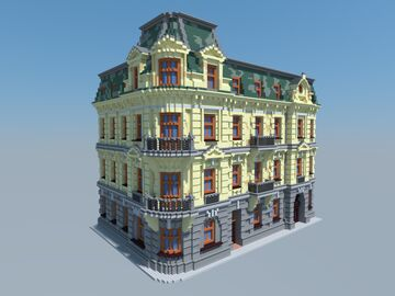Tenement house Minecraft Map & Project
