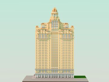 Drake Hotel, Philadelphia Minecraft Map & Project
