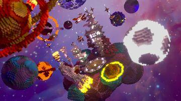 Altair | Space medium hub/lobby Minecraft Map & Project