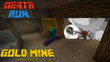 DeathRun Gold Mine[1.12.2] Minecraft Map & Project